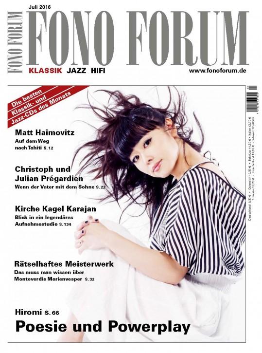 Fono Forum Juli 2016