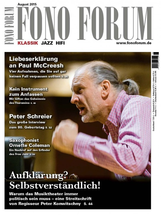 Fono Forum August 2015