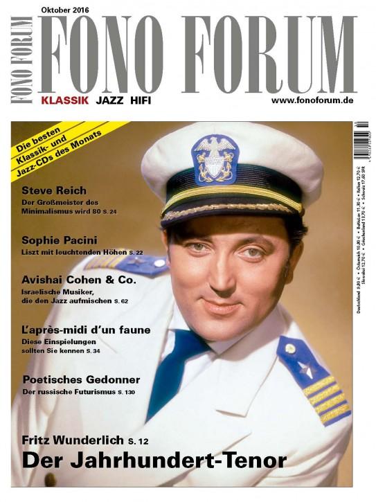 Fono Forum Oktober 2016