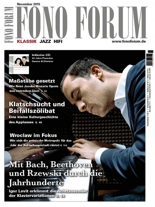 Fono Forum November 2015