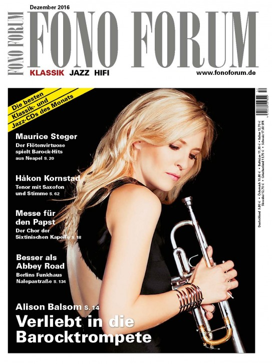 Fono Forum Dezember 2016