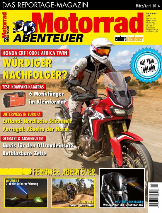 MotorradABENTEUER März/April 2016