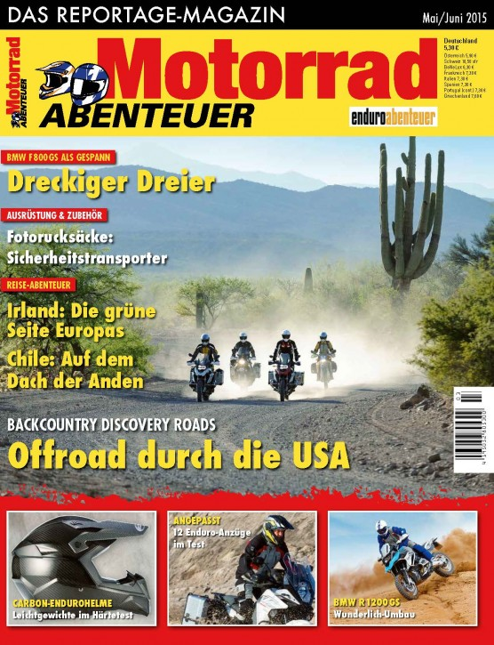 MotorradABENTEUER Mai/Juni 2015