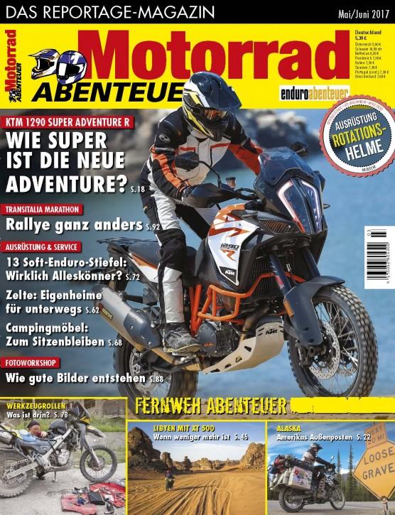MotorradABENTEUER Mai/Juni 2017