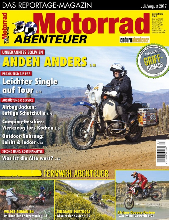 MotorradABENTEUER Juli/August 2017