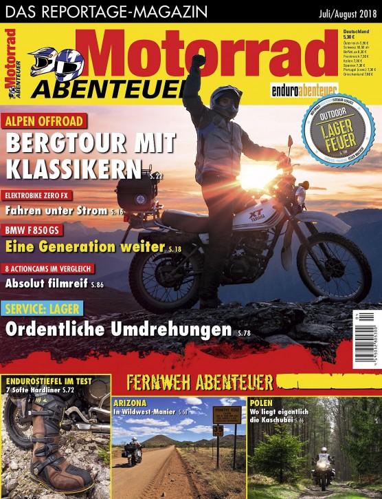 MotorradABENTEUER Juli/August 2018