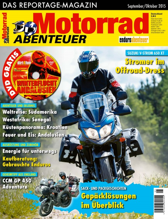 MotorradABENTEUER September/Oktober 2015