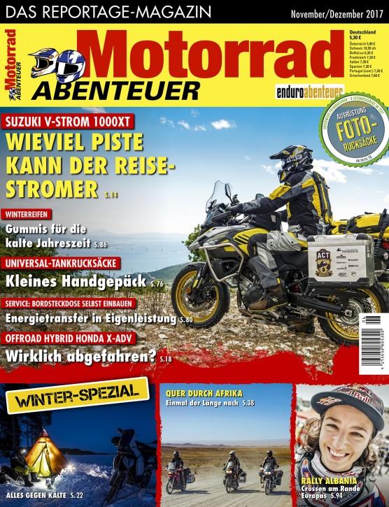 MotorradABENTEUER November/Dezember 2017