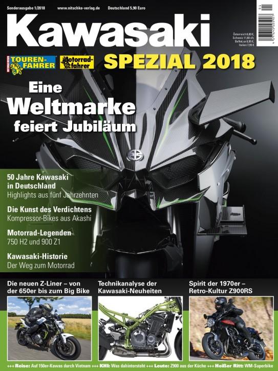 Kawasaki SPEZIAL 2018 gedruckte Ausgabe