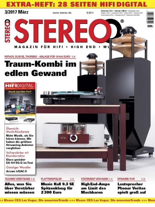 STEREO März 2017 gedruckte Ausgabe