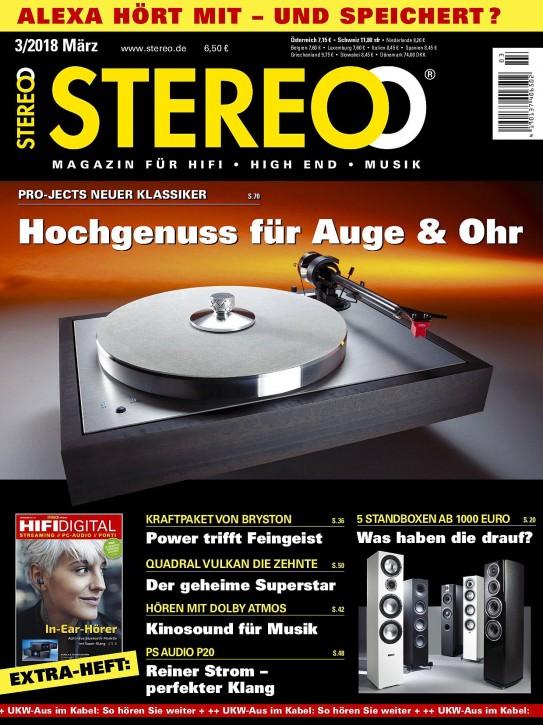 STEREO März 2018 gedruckte Ausgabe