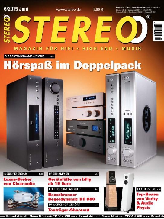 STEREO Juni 2015 gedruckte Ausgabe