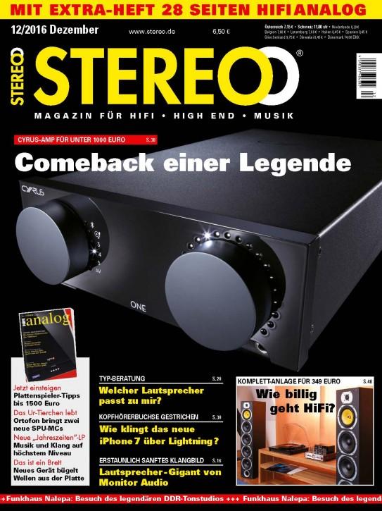STEREO Dezember 2016 gedruckte Ausgabe