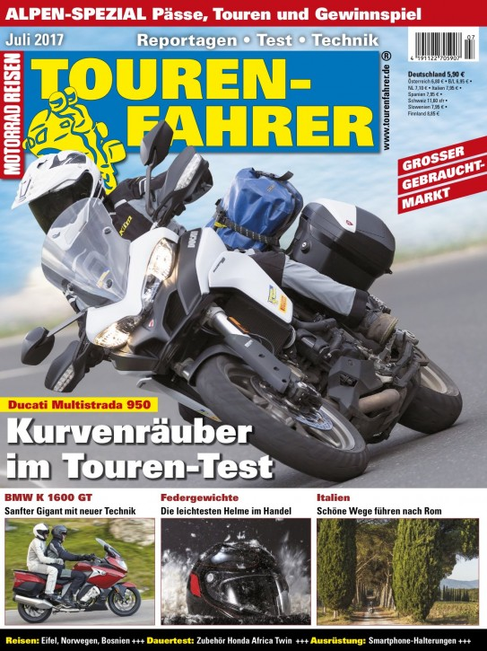 TOURENFAHRER Juli 2017
