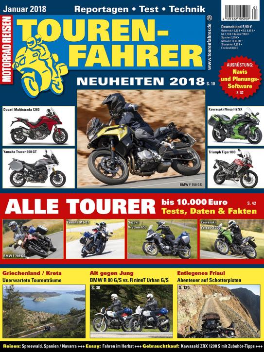 TOURENFAHRER Januar 2018