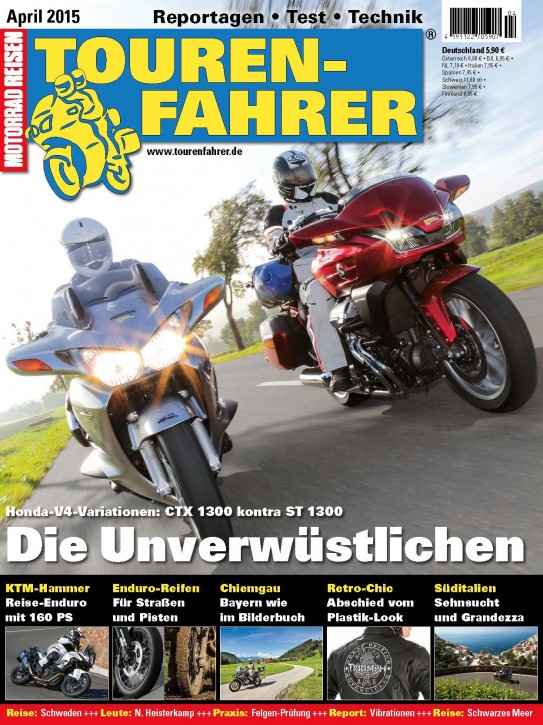 TOURENFAHRER April 2015