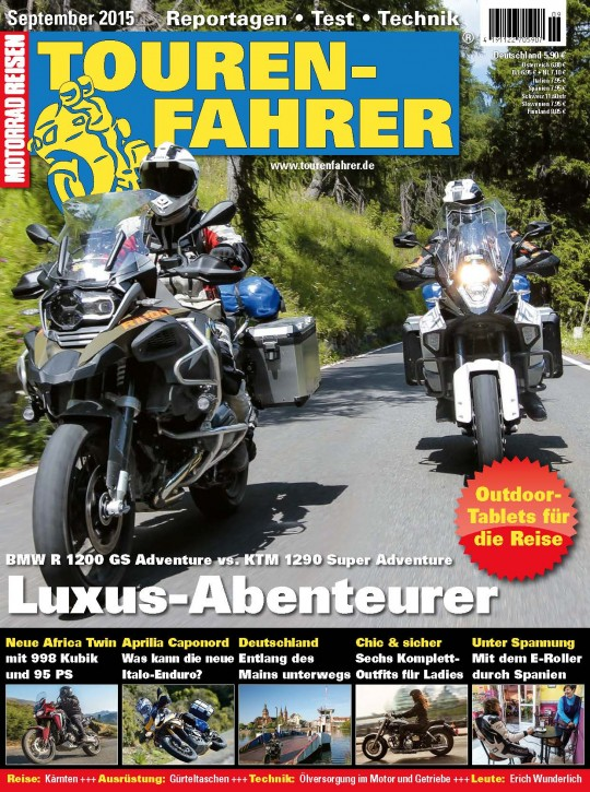 TOURENFAHRER September 2015