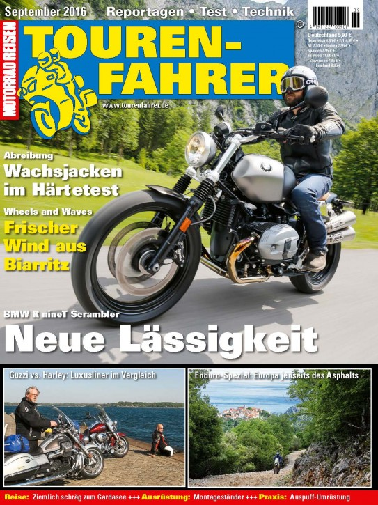 TOURENFAHRER September 2016
