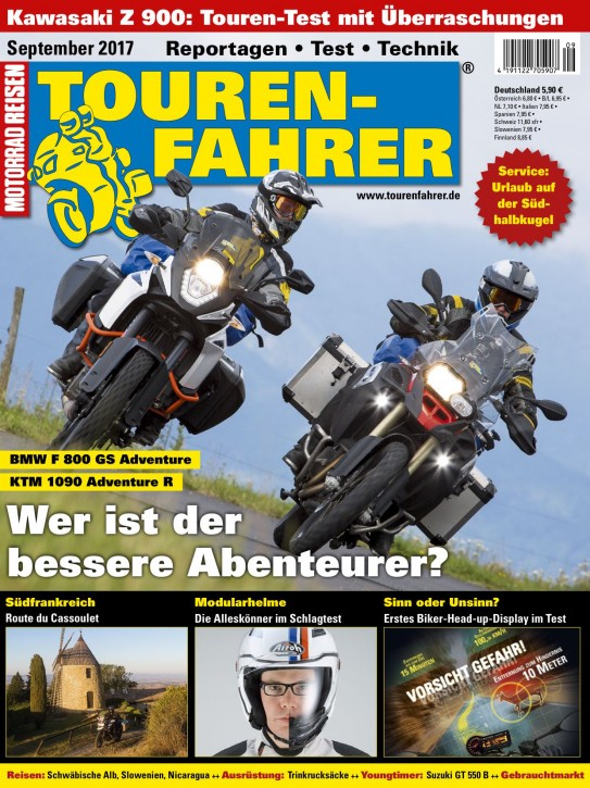 TOURENFAHRER September 2017