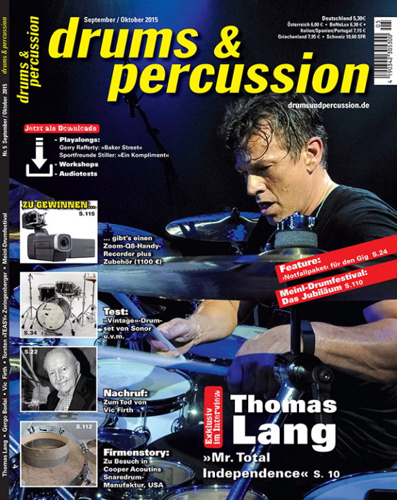 drums&percussion September/Oktober 2015