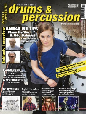 drums&percussion November/Dezember 2016