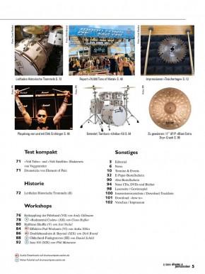 drums&percussion März/April 2020 gedruckte Ausgabe