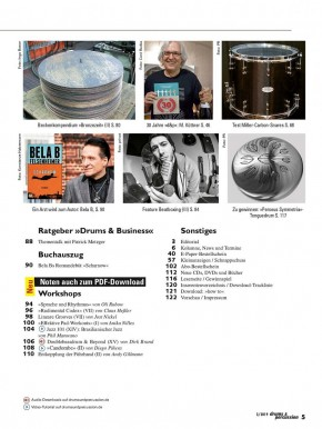 drums&percussion Mai/Juni 2019 E-Paper
