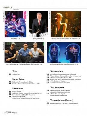 drums&percussion Mai/Juni 2020 gedruckte Ausgabe