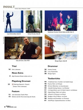 drums&percussion Juli/August 2021 E-Paper