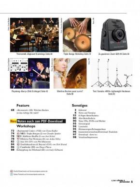 drums&percussion Juli/August 2019 E-Paper