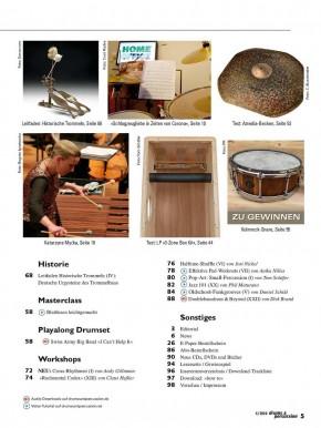 drums&percussion Juli/August 2020 E-Paper