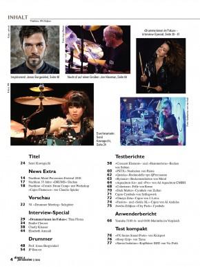 drums&percussion September/Oktober 2018