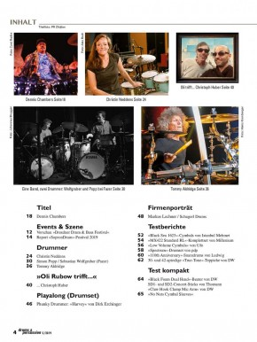 drums&percussion September/Oktober 2019 E-Paper