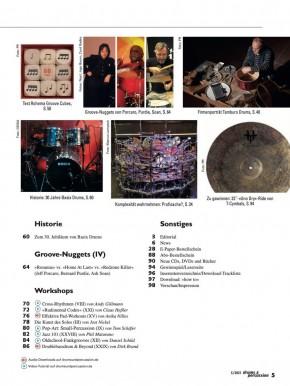 drums&percussion September/Oktober 2021 gedruckte Ausgabe