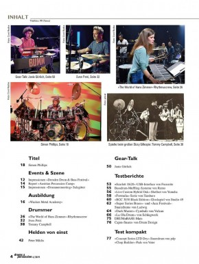 drums&percussion November/Dezember 2019 E-Paper