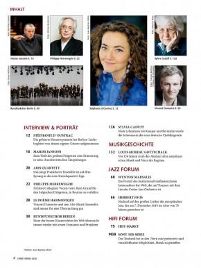 FONO FORUM Februar 2020 gedruckte Ausgabe