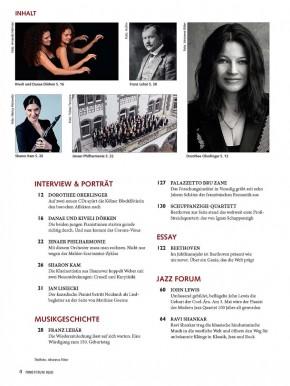 FONO FORUM Mai 2020 gedruckte Ausgabe