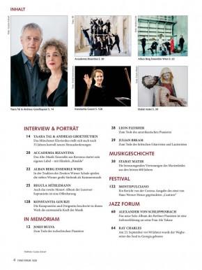 FONO FORUM Oktober 2020 gedruckte Ausgabe