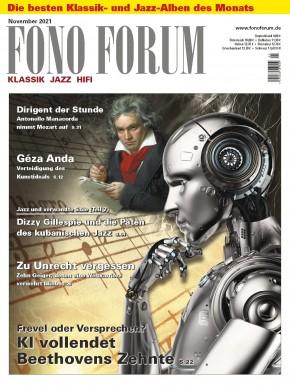 FONO FORUM November 2021 gedruckte Ausgabe
