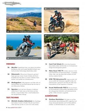 MotorradABENTEUER Mai/Juni 2019 gedruckte Ausgabe