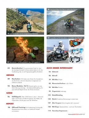 MotorradABENTEUER Juli/August 2019 gedruckte Ausgabe