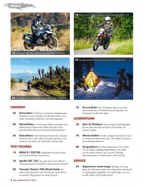MotorradABENTEUER November/Dezember 2018 E-Paper