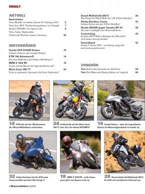 MOTORRADFAHRER Mai 2019 E-Paper
