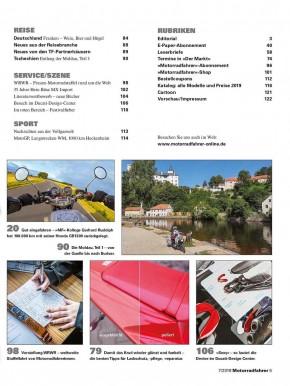 MOTORRADFAHRER Juli 2019 gedruckte Ausgabe