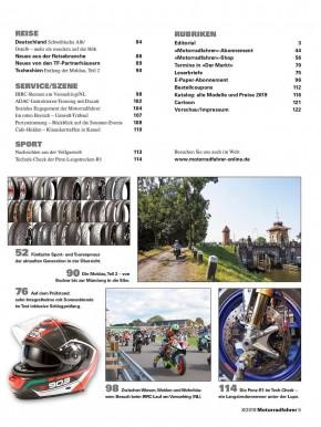 MOTORRADFAHRER August 2019 gedruckte Ausgabe