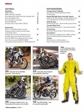 MOTORRADFAHRER Dezember 2019 E-Paper