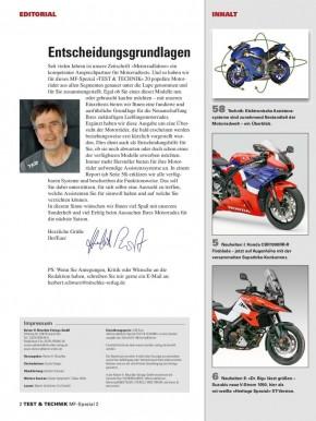 Motorrad-Spezial TEST und TECHNIK 2/2019 gedruckte Ausgabe