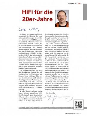HiFi Jahrbuch 1/2020 gedruckte Ausgabe