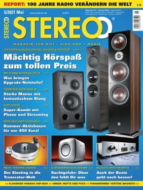 STEREO Mai 2021 gedruckte Ausgabe