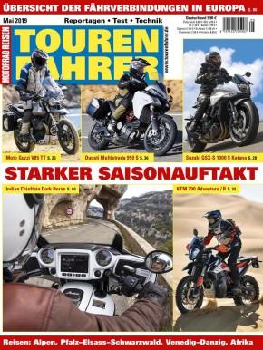 TOURENFAHRER Mai 2019 gedruckte Ausgabe